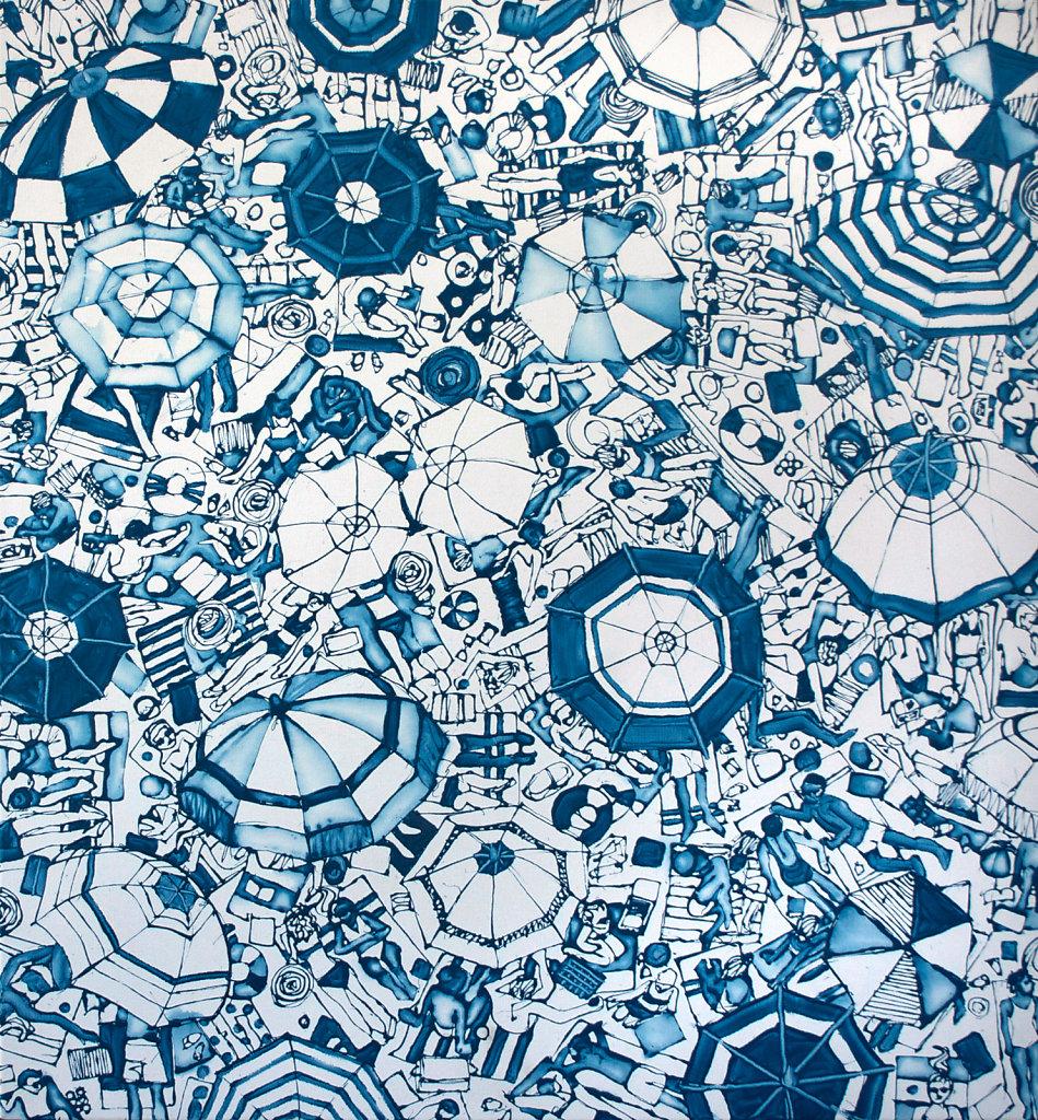 Umbrellascape: Sky Blue